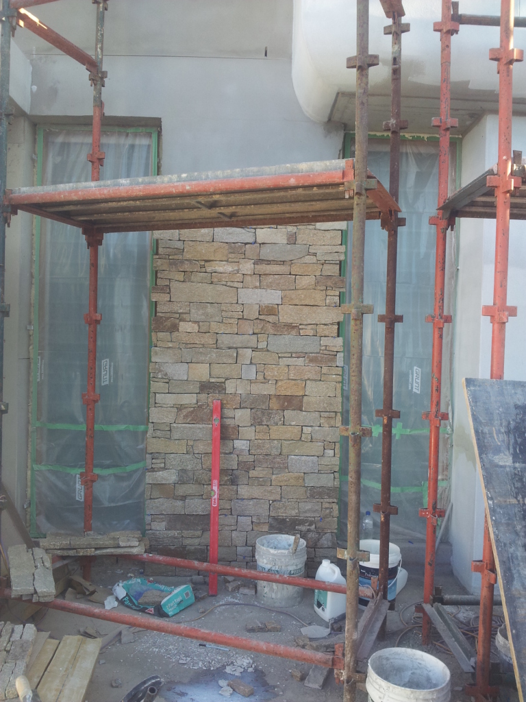 Exterior Wall Cladding Services : Wall cladding exterior and interior scope tiling